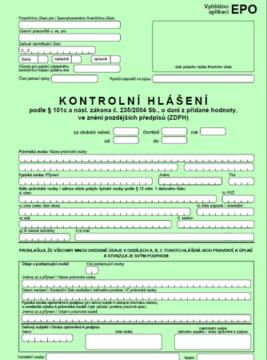 Control VAT Statement · PREGIS, a s